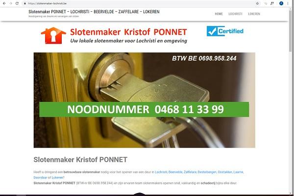 Slotenmaker Lochristi