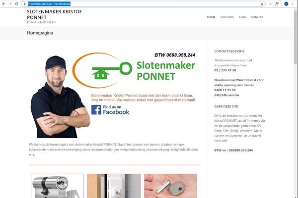 Slotenmaker Merelbeke