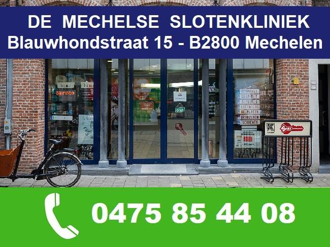 Slotenkliniek Mechelen - Slotenmaker MECHELEN